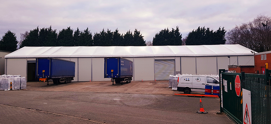 P&R new warehouse